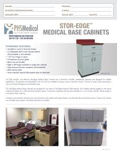 SEMCB-001 Base Cabinet Data Sheet
