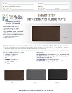 Smart Step FitnessMat Data Sheet