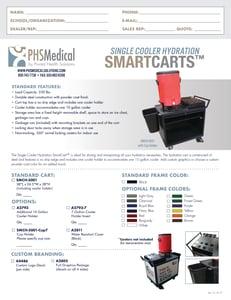 Single Cooler Hydraiton SmartCart Data Sheet
