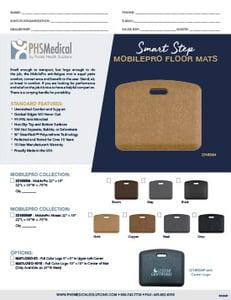 Smart Step MobilePro Mat Data Sheet