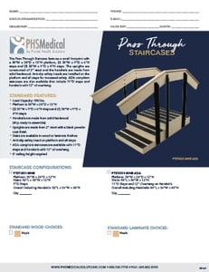 Pass Through Staircases Data Sheet