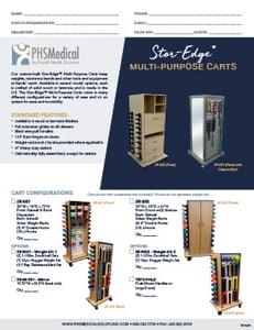 SR-001 Stor-Edge Multi-Purpose Cart Data Sheet