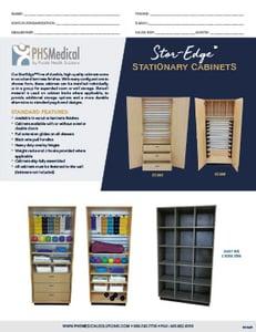 SC-003 Stor-Edge Stationary Cabinet Data Sheet