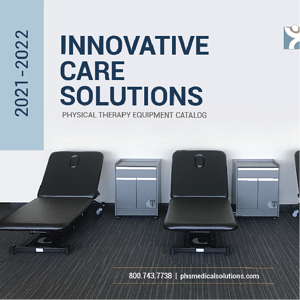 Innovative Care Solutions Catalog cover with treatment tables