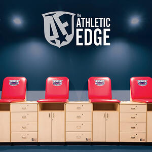 Athletic Edge catalog with Tape Station