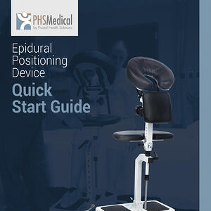 Epidural Positioning Device Quick Start Guide with EPD