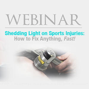 Shedding Light on Sports Injuries Webinar with Apollo Laser on Knee
