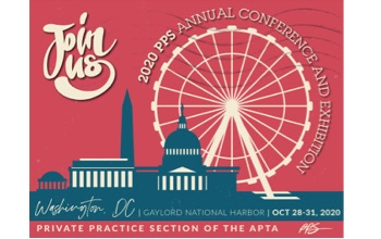 pps annual conference exhibition poster with farris wheel and capital building