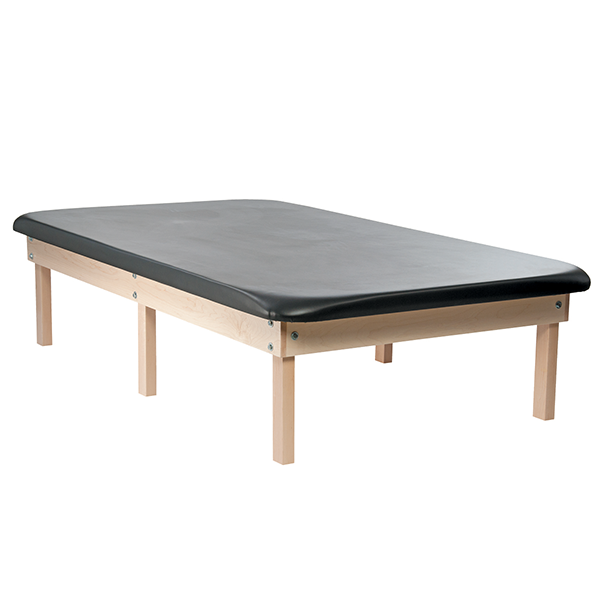 6 Leg Classic Wood Mat Table