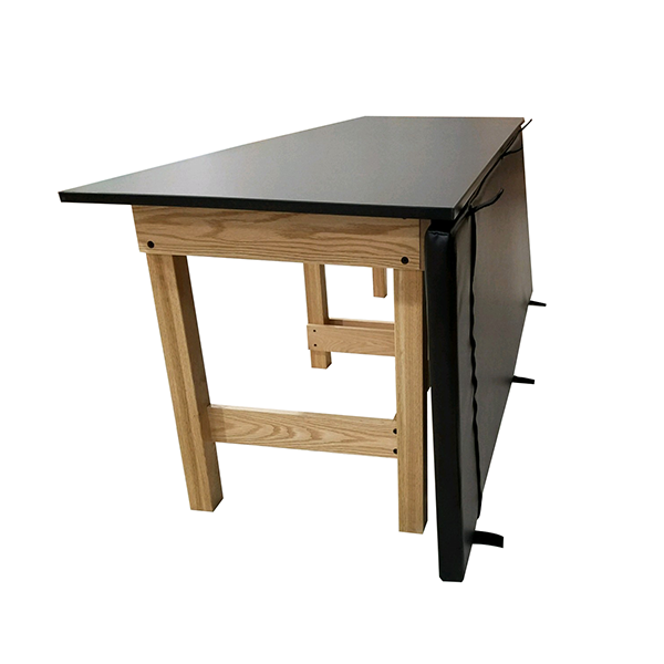 Classroom/Lab Treatment Table with Pad and Cubbies