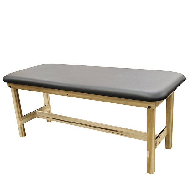 Essential Wood Treatment Table with Shelf