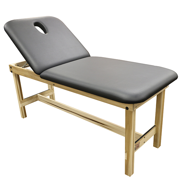 Essential Wood Treatment Table with Lift Back