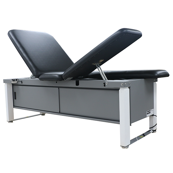 ME2000 Elevating Treatment Table with Lift Back and Split Leg