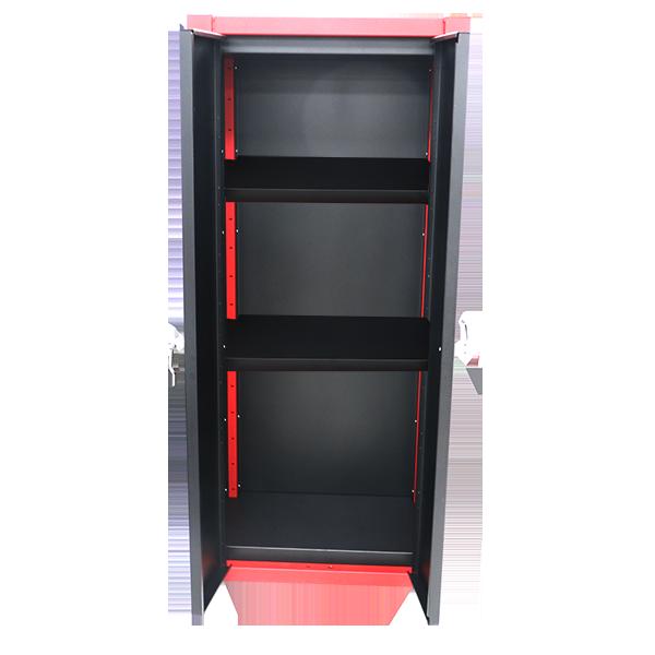 Cabinets, Craftsman 72 2 Door Tall Floor Cabinet With Shelves