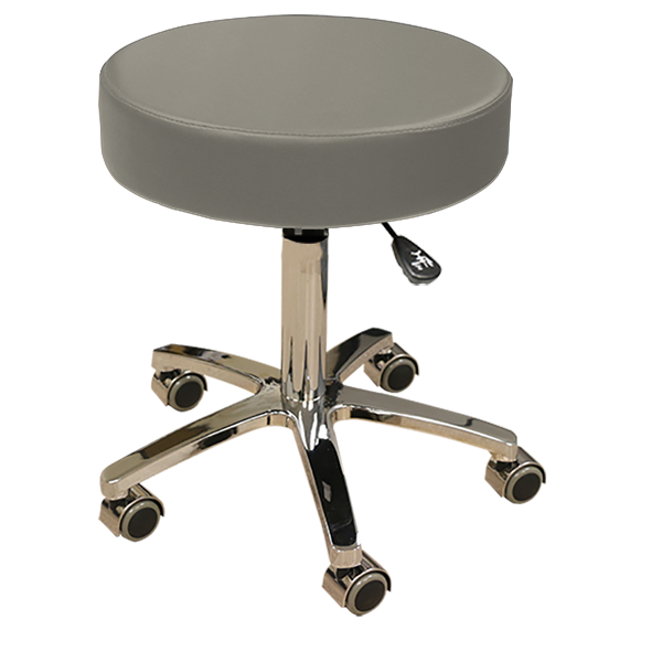 Medical Rolling Stool - Charcoal
