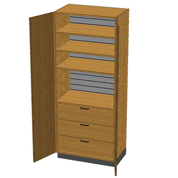 SC-003 Stor-Edge Stationary Cabinet