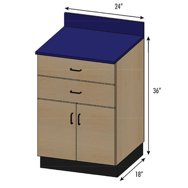 SEMCB-003-2D Base Cabinet