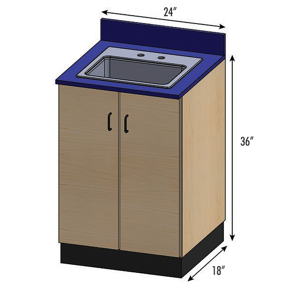 SEMCB-003-Sink Base Cabinet