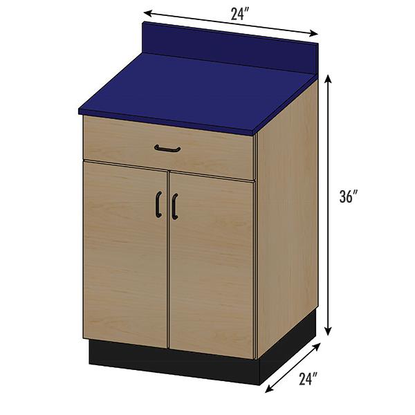 SEMCB-004-1D Base Cabinet
