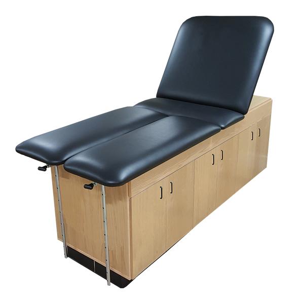 CAB-010 Treatment Cabinet with Lift Back, Split Leg, and Locks
