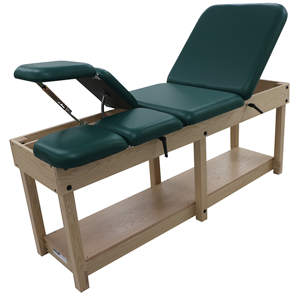 Hip & Knee Flexion Treatment Table with Raised Leg