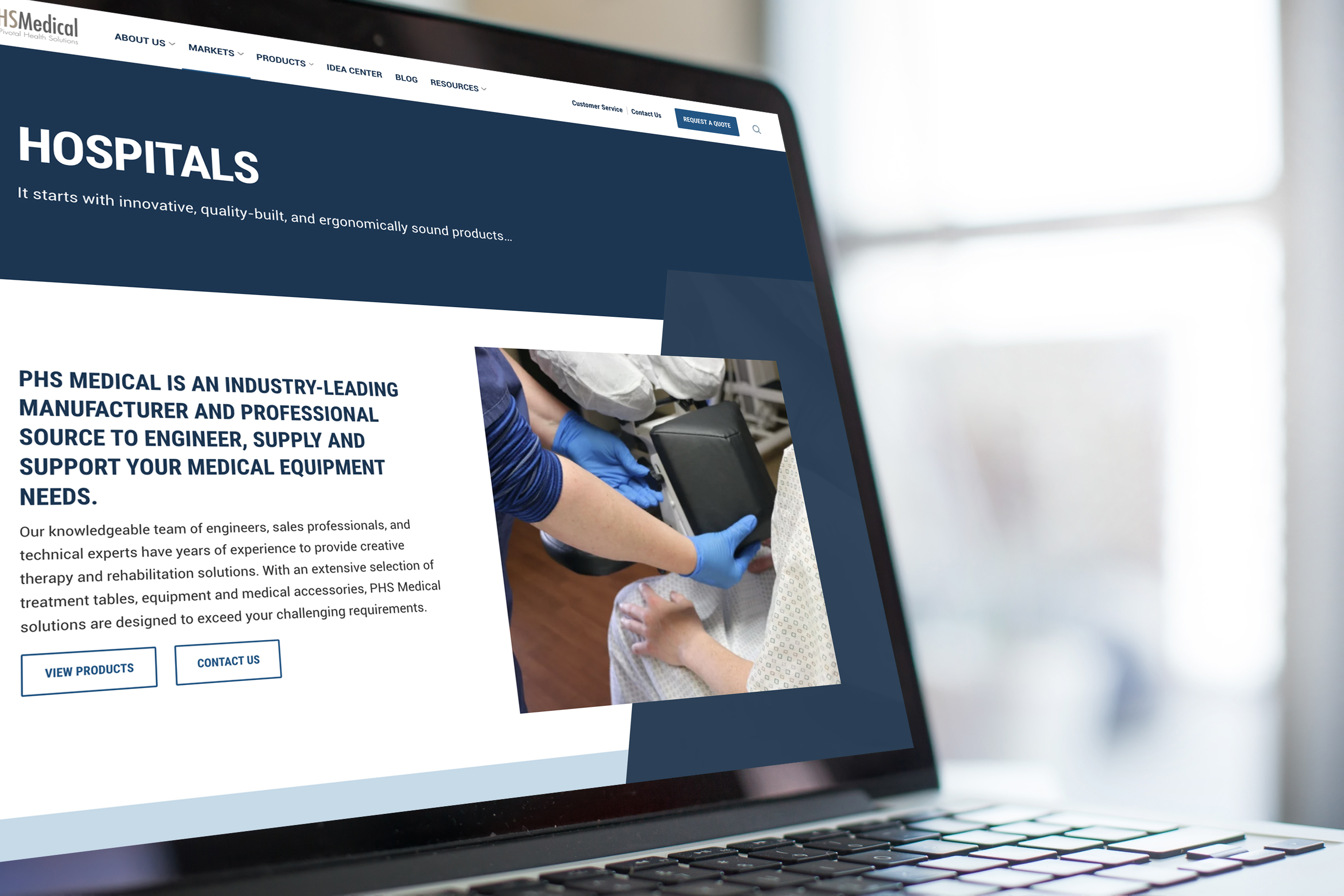 PHS Medical Launches Updated Website featured image