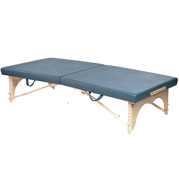 Portable Wood Mat Table