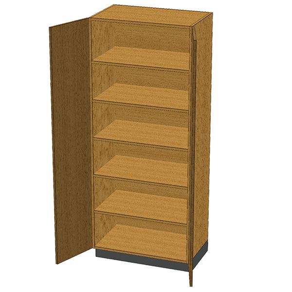 SC-004 Stor-Edge Stationary Cabinet