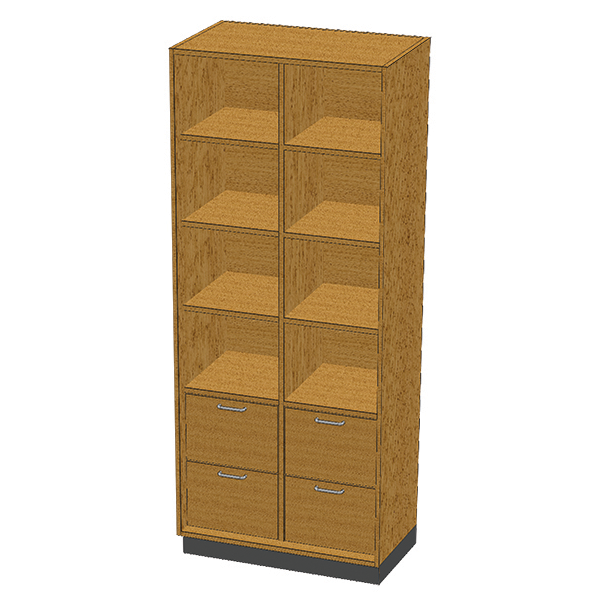 SC-006 Stor-Edge Stationary Cabinet