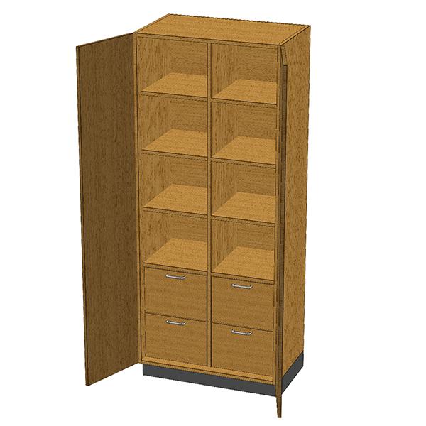 SC-006 Stor-Edge Stationary Cabinet
