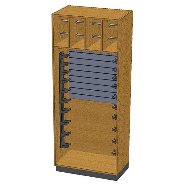 SC-008 Stor-Edge Stationary Cabinet