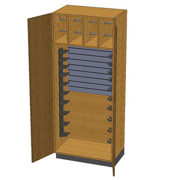 SC-008 Stor-Edge Stationary Cabinet