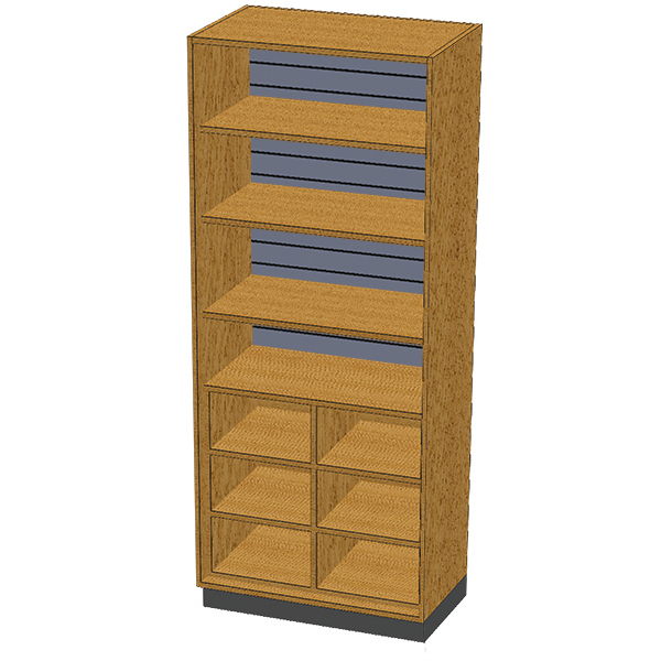 SC-012 Stor-Edge Stationary Cabinet