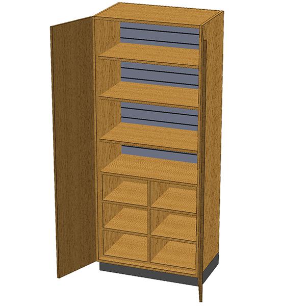 SC-012 Stor-Edge Stationary Cabinet